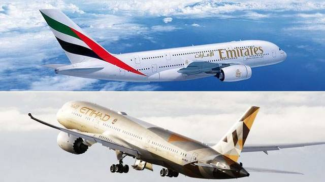 A merger between the UAE-based carriers will create a strong international entity