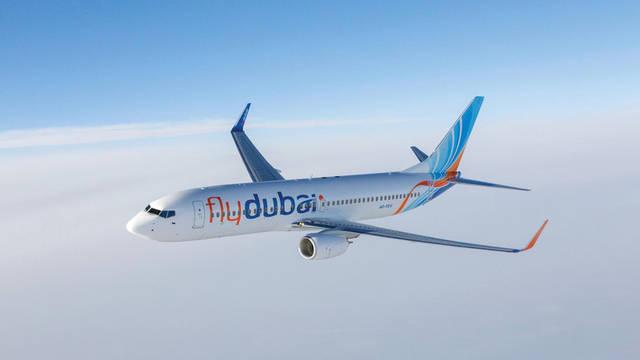 طائرة تابعة لفلاي دبي