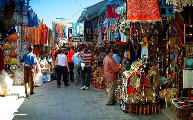 أحد الأسواق التونسية