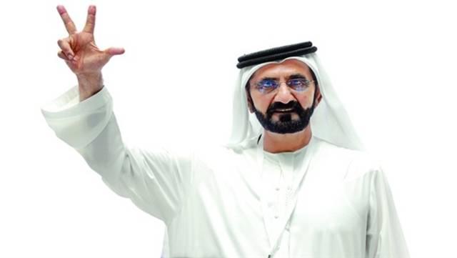 الشيخ محمد بن راشد آل مكتوم، نائب رئيس الدولة رئيس مجلس الوزراء حاكم دبي