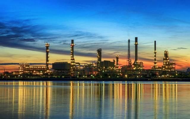 منشأة تابعة للهيئة الوطنية للنفط والغاز بالبحرين