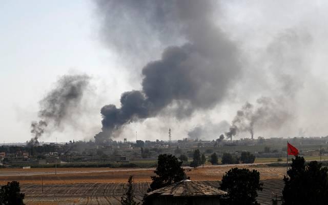 صورة من التحرك العسكري التركي في سوريا