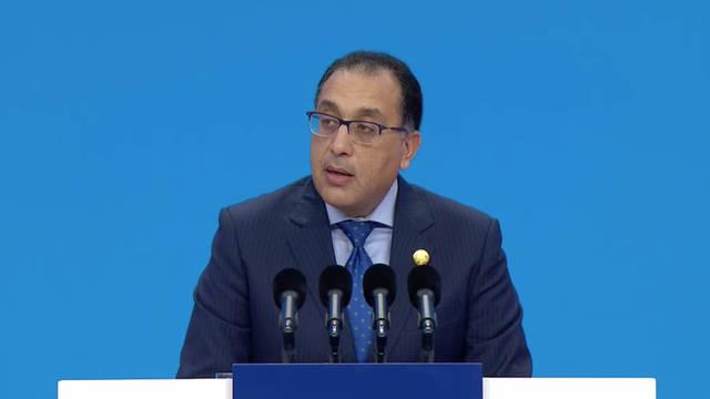 رئيس مجلس الوزراء المصري مصطفى مدبولي