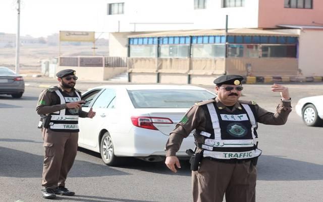 رجال مرور سعوديين - أرشيفية