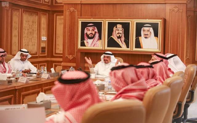 وزير الحج والعمرة السعودي خلال الاجتماع