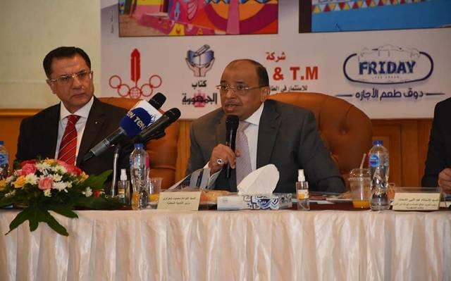 جانب من مشاركة وزير التنمية المحلية في المؤتمر
