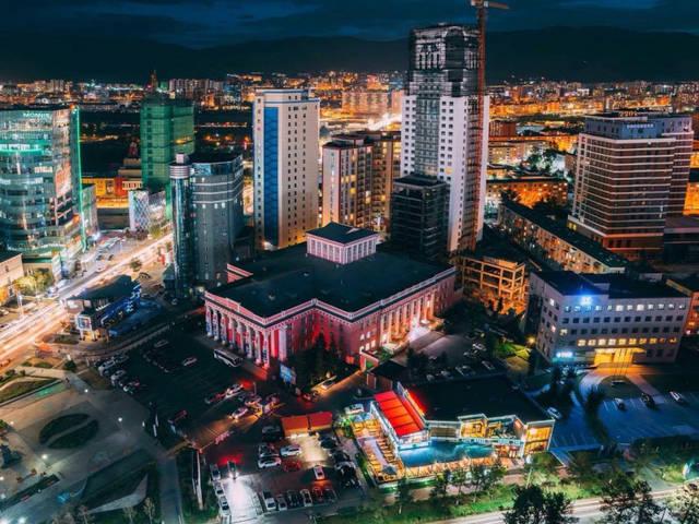 الصورة من جمهورية منغوليا