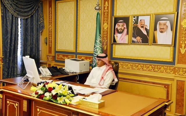 جانب من جلسة مجلس الشورى السعودي