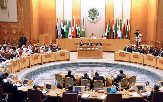 اجتماع سابق للبرلمان العربي بمقر الجامعة العربية في القاهرة