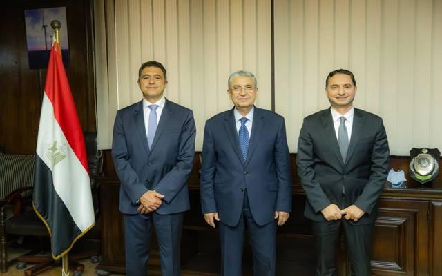 وزير الكهرباء يلتقي الرئيس الإقليمي لشركة شنايدر إلكتريك مصر