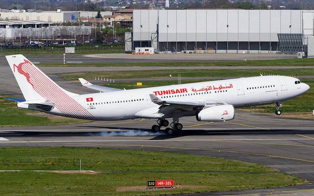 إحدى طائرات الخطوط التونسية