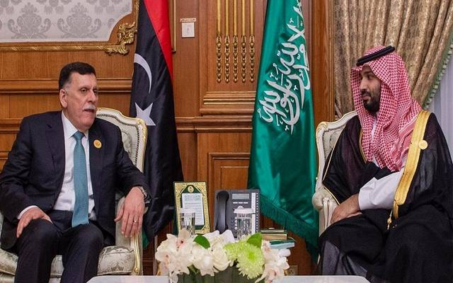 الأمير محمد بن سلمان يلتقي رئيس حكومة الوفاق الليبي بمكة