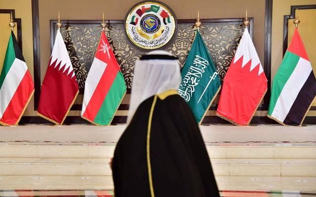 صورة لأعلام دول مجلس التعاون الخليجي- أرشيفية