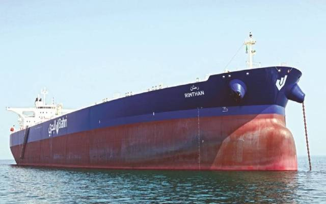 ناقلة تابعة للشركة الوطنية السعودية للنقل البحري