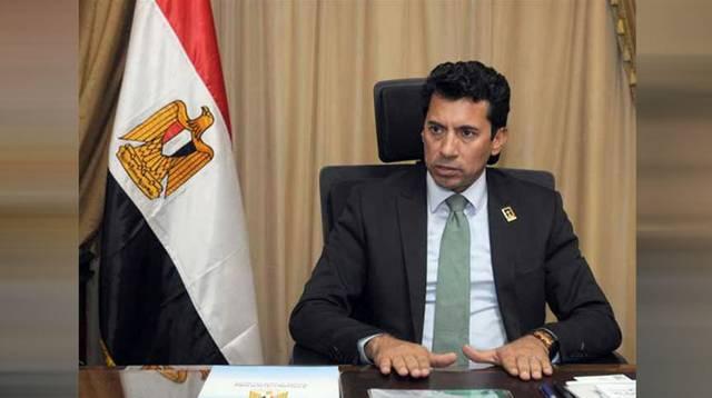 أشرف صبحي - وزير الشباب والرياضة