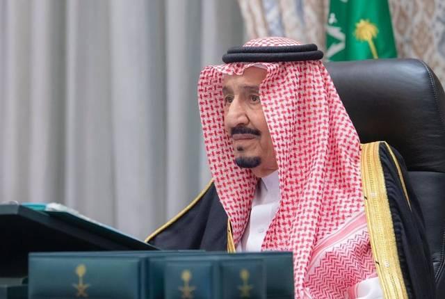 الملك سلمان بن عبدالعزيز آل سعود خادم الحرمين الشريفين ورئيس مجلس الوزراء السعودي