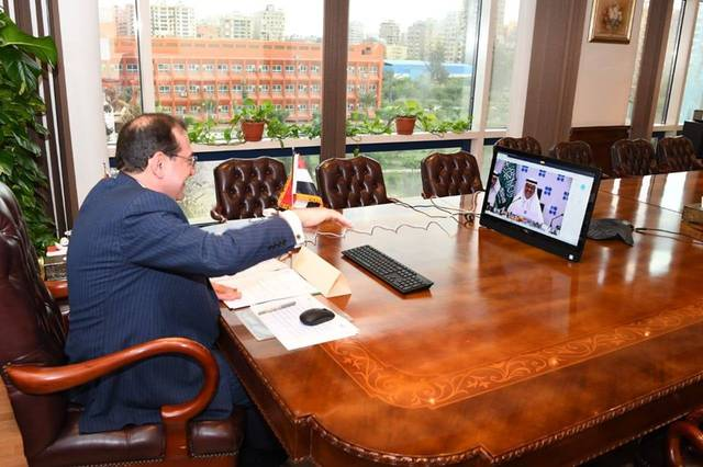 """وزير البترول المصري خلال المشاركة في اجتماعات """"أوبك +"""""""