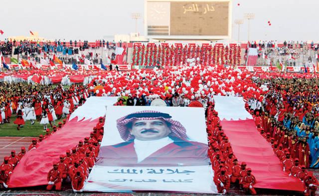 احتفالات العيد الوطني للبحرين وعيد الجلوس على العرش