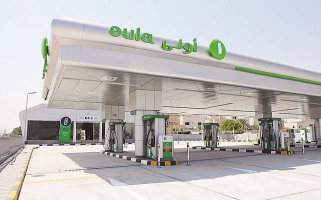 إحدى محطات الوقود التابعة للشركة في الكويت