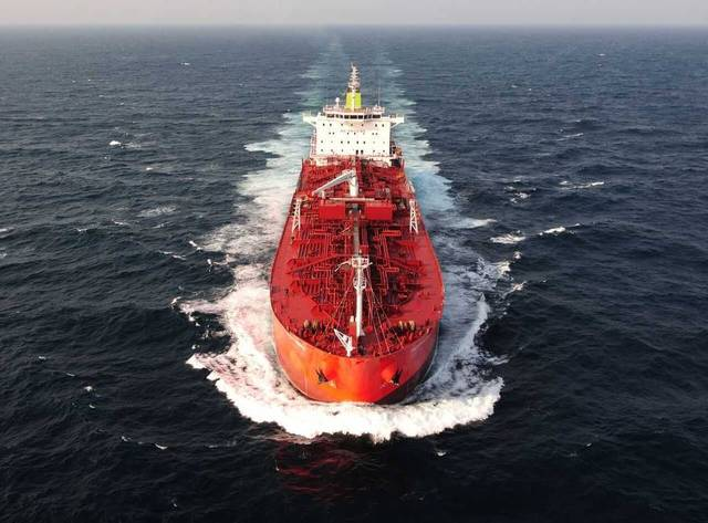 The vessel's employment is forecast to improve the company's liquidity