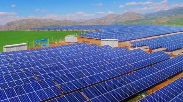 The projected solar plant will be located on up to 96,000 square metres