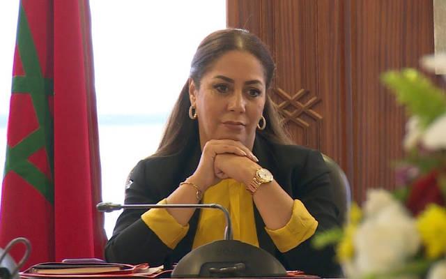 وزيرة إعداد التراب الوطني والتعمير والإسكان المغربية نزهة بوشارب