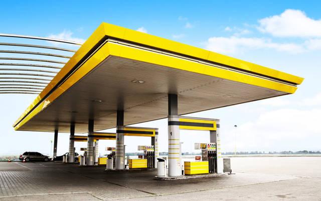 إحدى محطات الوقود
