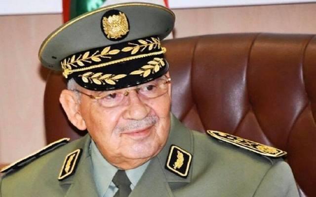 رئيس أركان الجيش الجزائري، الفريق أحمد قايد صالح