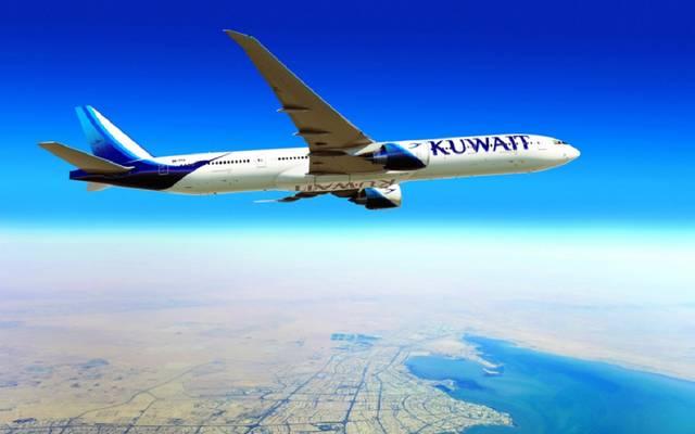 إحدى الطائرات التابعة للخطوط الجوية الكويتية