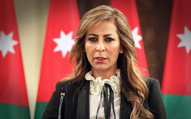 جمانة غنيمات وزيرة الإعلام والناطق الرسمي باسم الحكومة