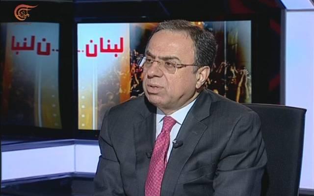 وزير الاقتصاد في حكومة تصريف الأعمال اللبنانية منصور بطيش - أرشيفية