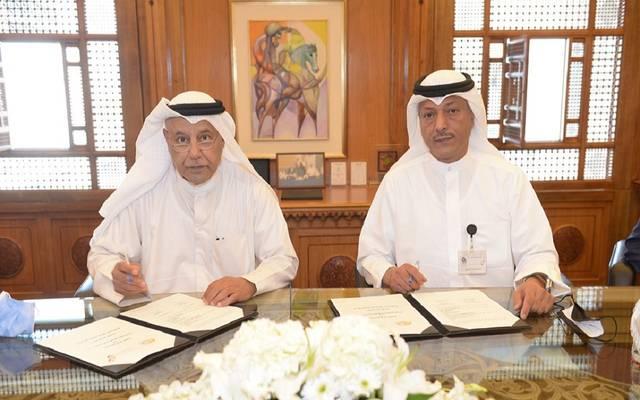 """""""ضمان"""" توقع مذكرة تفاهم مع اتحاد الصناعات الكويتية في مجال التأمين"""