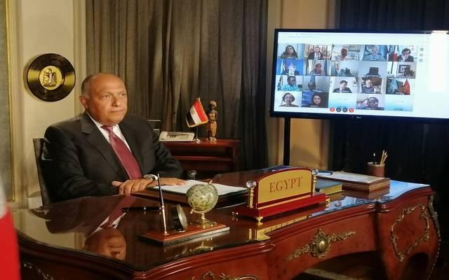 وزير الخارجية لمجلس الأمن: السد الإثيوبي يهدد المصدر الوحيد لحياة 100 مليون مصري