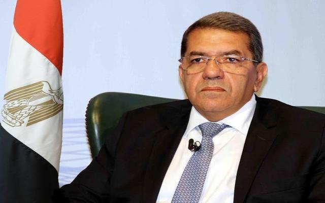 Minister of Finance Amr El-Garhy