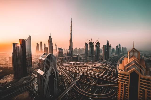 أحد المعالم السياحية بإمارة دبي