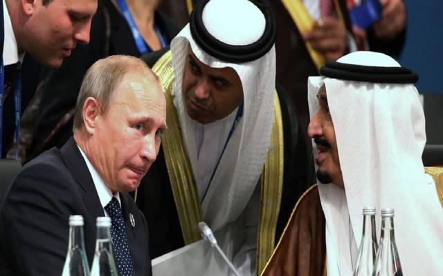 """الملك سلمان بن عبدالعزيز يبحث مع """"بوتين"""" استقرار أسواق النفط"""