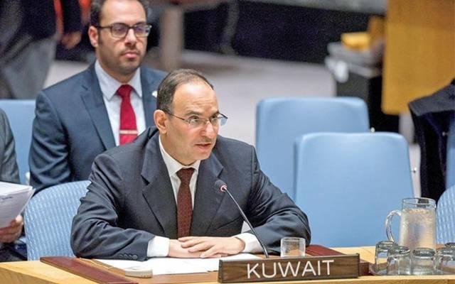 السفير منصور العتيبي، مندوب الكويت الدائم لدى الأمم المتحدة