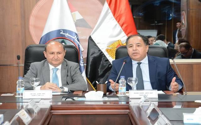 وزير المالية محمد معيط، ووزير التجارة والصناعة عمرو نصار