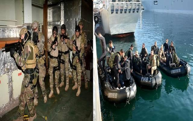 """انطلاق التدريب البحري المصري الفرنسي المشترك """"كليوباترا – جابيان 2019"""""""