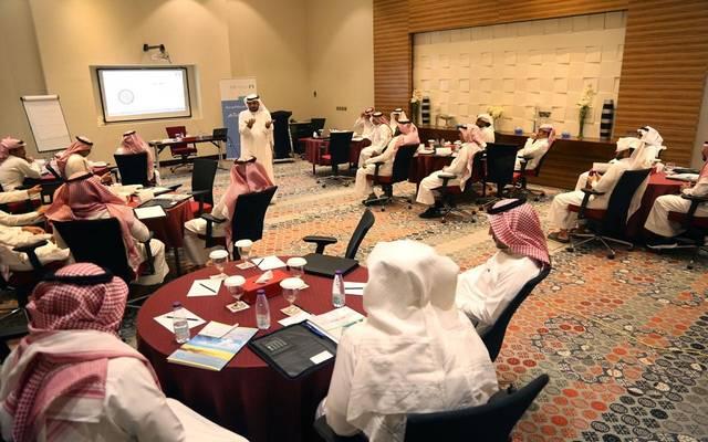 جانب من الورش التدريبية بالمرحلة الأولى من مبادرة تطوير كفاءة موظفي القطاع العام