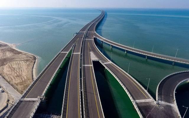 جسر الشيخ جابر في الكويت
