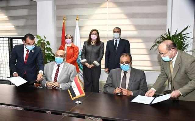 وزيرتا التخطيط  والبيئة تشهدان توقيع بروتوكول تعاون لدراسة منظومة المخلفات الصلبة