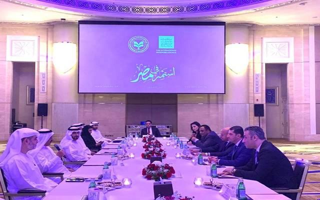 الهيئة العامة للاستثمار تبحث مع مستثمرين إماراتيين ضخ استثمارات جديدة في مصر
