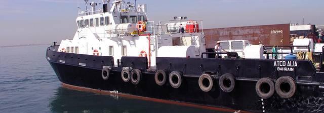 أحد السُفن التابعة للشركة