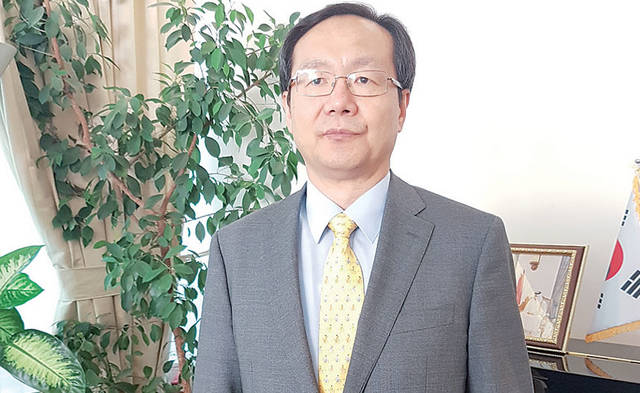 South Korea's new Ambassador to Qatar Kim Chang-mo