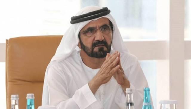 الشيخ محمد بن راشد آل مكتوم نائب رئيس دولة الإمارات رئيس مجلس الوزراء حاكم دبي