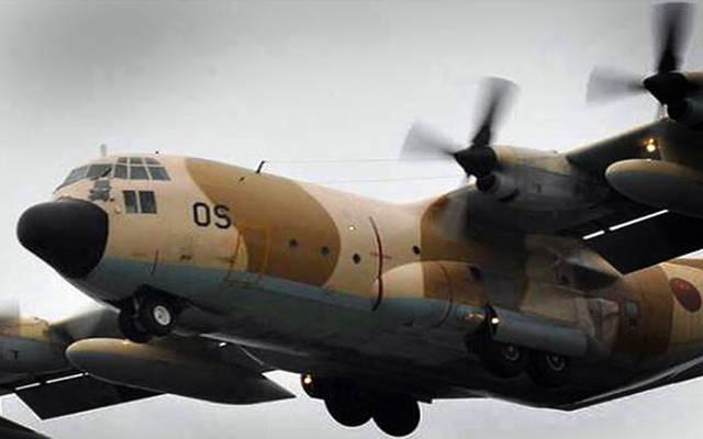 حاملة إغاثة طائرة تابعة للقوات المسلحة الملكية المغربية