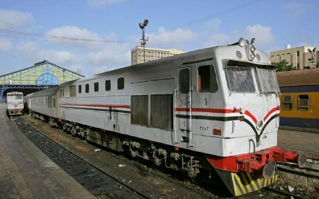 السكة الحديد: عطل جرار بمحطة شبين الكوم الجديدة