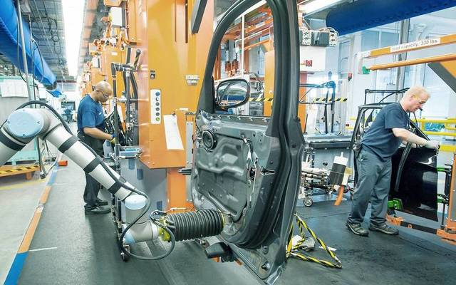 UK manufacturing output goes up 0.7% in September