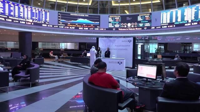 مستثمرون داخل مقر بورصة البحرين